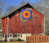 Barn w/ Hex Sign