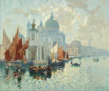 Venice Seascape by Konstantin Gorbatov
