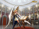 angel and books