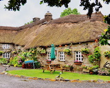 #Old Thatched Roof Cottage