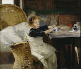 Helene Schjerfbeck: Convalescent (1888)