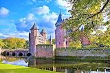 De Haar Castle in autumn