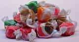 ^ Salt water taffy pile