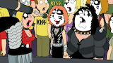 Kiss family guy crowd a l