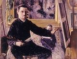 G.Caillebotte, Autoportrait au chevalet, 1879-80