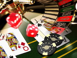Hardrock Casino games, dice, roulette, cards