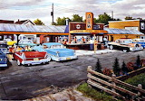 1950's A & W Drive-In