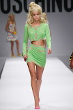 Moschino Barbie in Lime Green