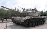 M60A1 tank with ERA