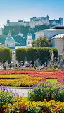 Flowers - Mirabell Garden - Salzburg Austria