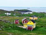 Houses on Fogo Island, Canada