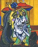 Pablo Picasso: La Femme qui pleure (1937)