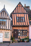 Suffolk, Lavenham, The Crooked House
