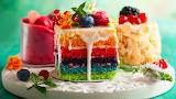 ^ Cake choices