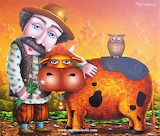 #A Man and His Cow by Zurab Martiashvili