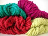 ^ Chunky alpaca yarn