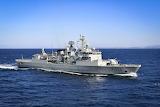 Portugese Frigate 332