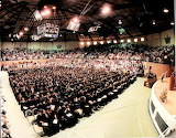Graduation in Walter Sillers Coliseum