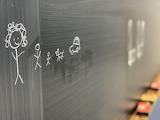 LU chalkboard