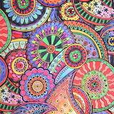 Circles colouring book