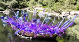 Purple Chihuly Glass Art