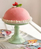 Currant ice cream cake