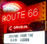 Homage to the Drive In in the Museum
