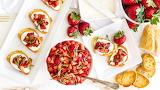 Strawberry Bruchetta
