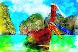 Boat Watercolor