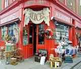Alices's, Portobello Road, London @ Pinterest...