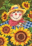 Scarecrow & Sunflowers