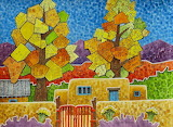 ^ Pilar Cottonwoods ~ Robert Yackel