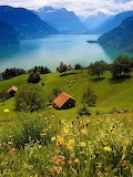 Lake Lucern in Switzerland
