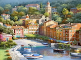 Painting village-Sung Kim