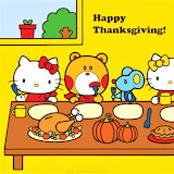 A Hello Kitty Happy Thanksgiving