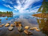 Karelia Kilpola island