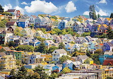 Colorful San Francisco Houses