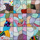 Scribbles mosaic