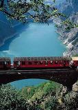 mountain railway, france