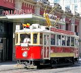 Vintage tram Prague