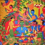 from Dhaka folk art museum