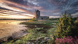 Evening Sunrises and sunsets Castles Ireland