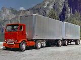 GMC Crackerbox Semi Truck Tandem