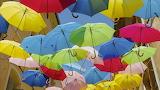 Umbrellas, Beziers, France