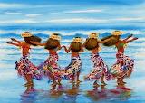 Hula dancers -John Yato