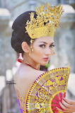 Balinese Girl in Traditional Style