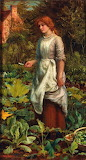 Arthur Hughes The Gardener's Daughter