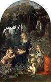 Leonardo Da Vinci - Virgin of the Rocks