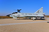 Convair TF-102A Delta Dagger Century Circle Edwards AFB