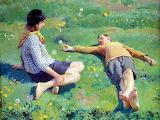 Harold Harvey, Cornish children
